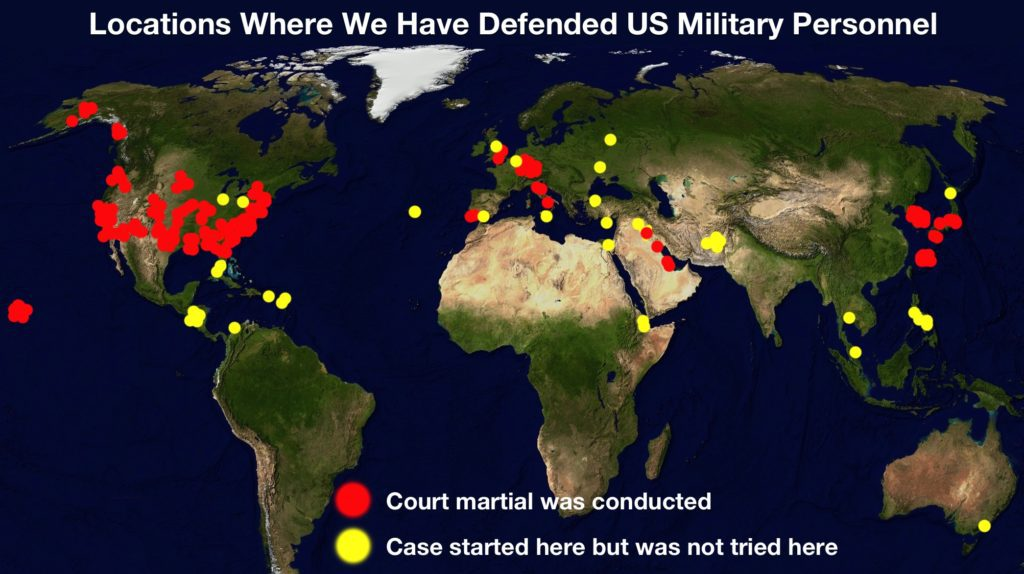 Recent Court Martial Results   Criminal and Administrative Cases