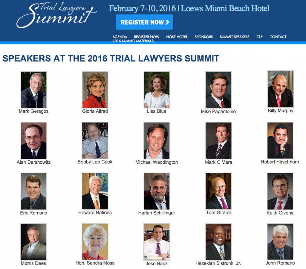 national trial lawyers - miami 2016